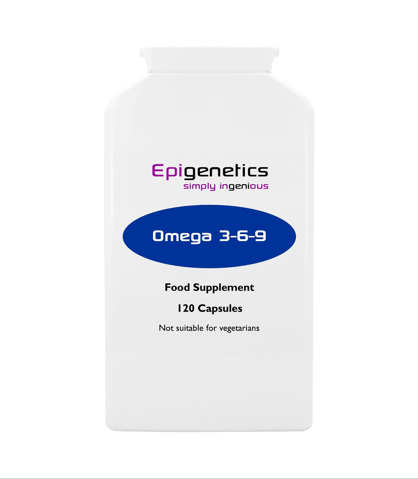Omega 3 6 9 Pack Of 120 Capsules Epigenetics