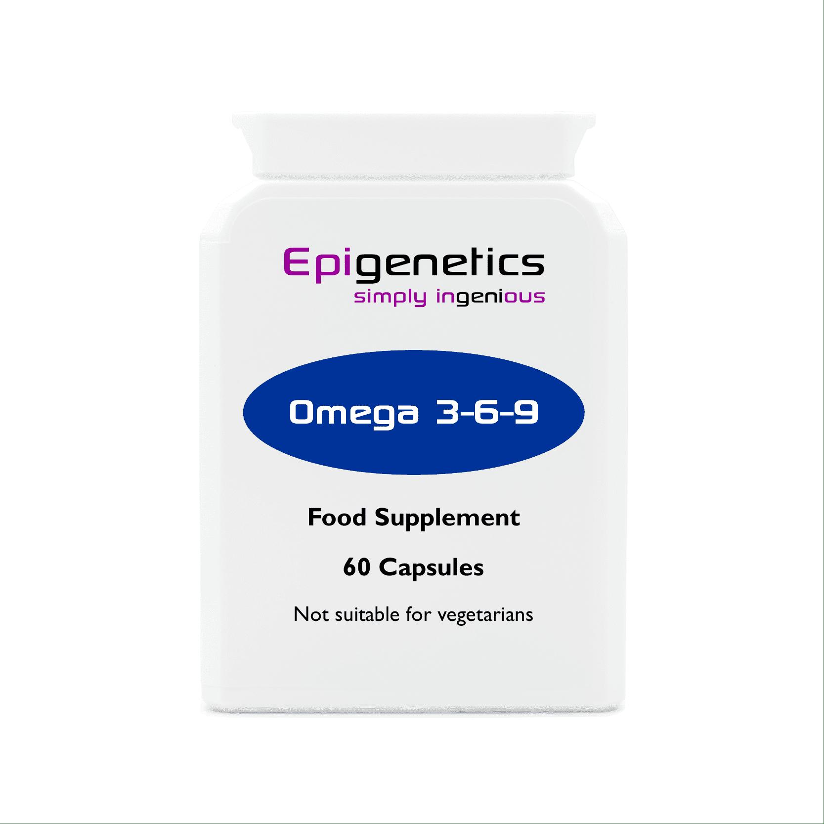 Omega 3 6 9 Pack Of 60 Capsules Epigenetics