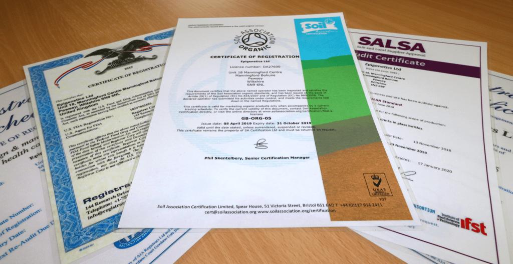 Certificates Thin